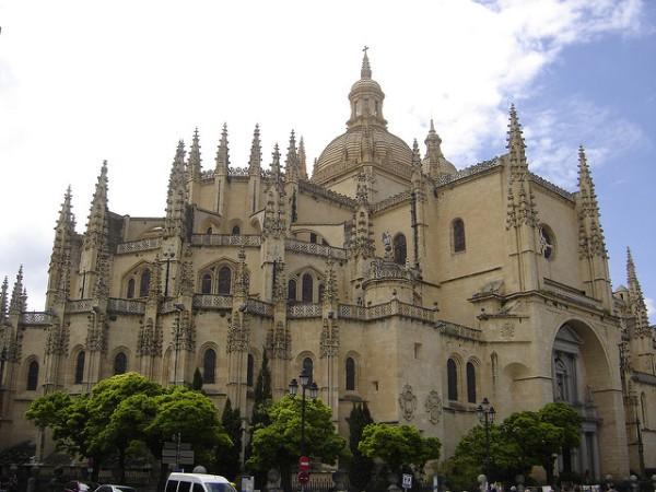 La Catedral es uno de los principales monumentos de Segovia