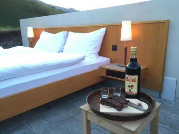 Dormir al aire libre en un hotel de cero estrellas