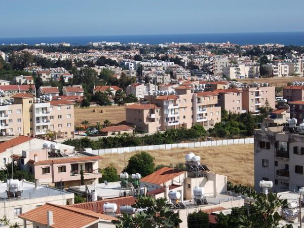 Vistas de Pafos, ciudad costera de Chipre