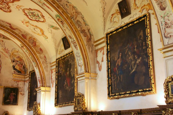 La Sacristía de San Millán de Yuso está llena de obras de arte