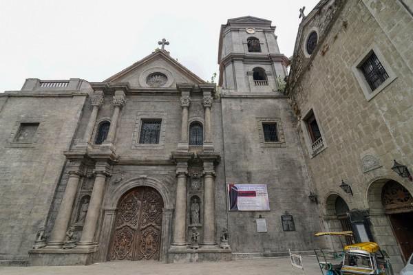 La Iglesia de San Agustín es el edificio más antiguo de Manila
