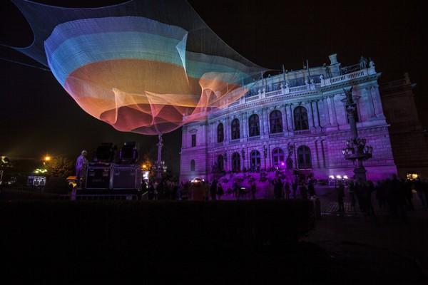 El Signal Festival llena de luz y sonido las noches de Praga