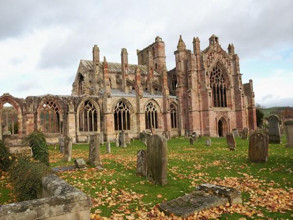 La Abadía de Melrose, donde encontraréis al auténtico Braveheart