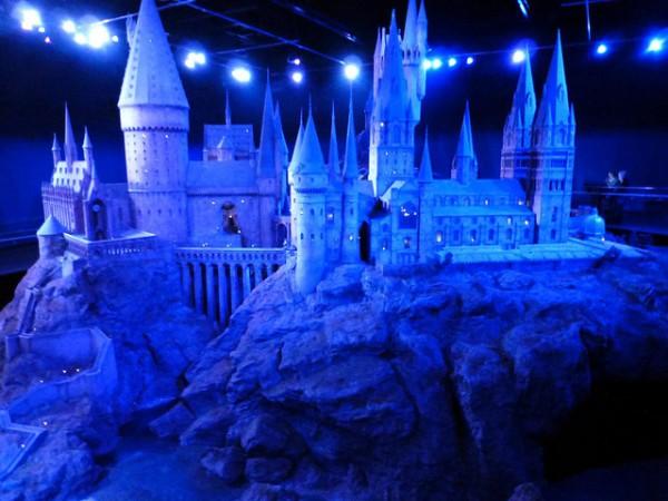 La maqueta real del colegio Hogwarts
