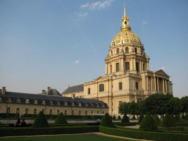 El Palacio de los Inválidos, en París