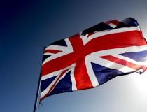 La Union Jack y el resto de banderas principales del Reino Unido