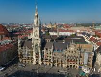 Marienplatz, la plaza más bonita de Alemania, está en Múnich