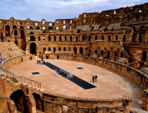 Anfiteatro de El Djem, el coliseo de Túnez