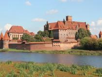 La ciudad polaca de Malbork y su famoso castillo