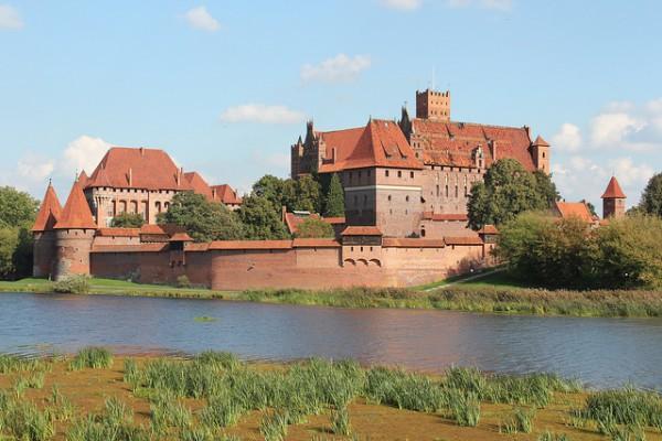 El Castillo de Malbork es una de las grandes fortalezas de Europa