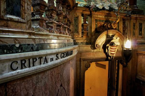 Los restos de San Gennaro están en la Catedral de Nápoles