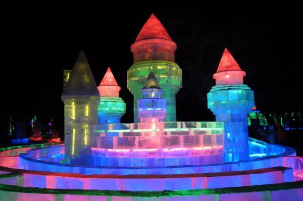 La ciudad china de Harbin acoge todos los inviernos un festival de hielo y nieve