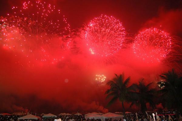 La fiesta de Añonuevo en Río se conoce como Reveillon