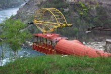 El teleférico español que sobrevuela las cataratas del Niágara