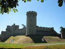 El Castillo de Warwick, en Inglaterra