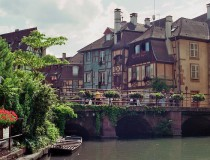 Colmar, pintoresco pueblo de Francia