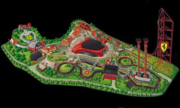 Ferrari Land, en Port Aventura, abrirá el 7 de abril