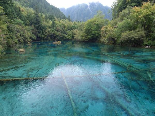 Los valles de Jiuzhaigou, patrimonio natural de China