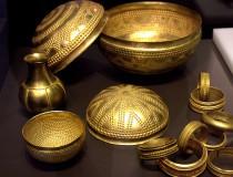 El tesoro de Villena, las joyas de oro y plata más antigua encontradas