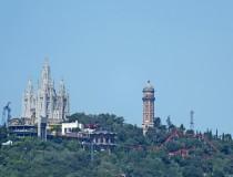 El Tibidabo, el mirador de Barcelona