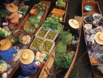 Los más bonitos mercados flotantes