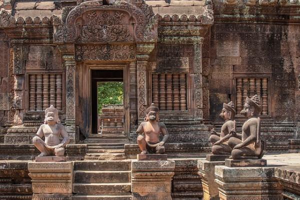 El gobierno subirá los precios de los Templos de Angkor Wat