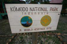 El Parque Nacional de Komodo