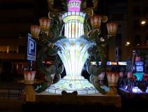 Las Gayatas, monumentos de luz en las fiestas de la Magdalena de Castellón