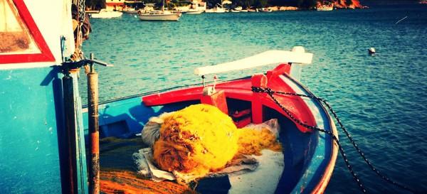 Una bonita isla griega