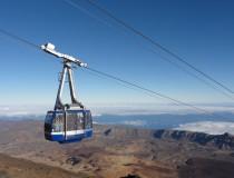 El Teleférico del Teide, un eficiente medio de transporte hasta la cima del volcán de Tenerife