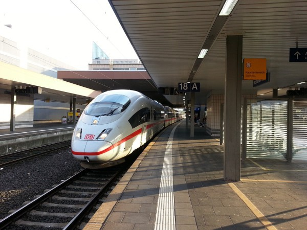 Un beneficio de los trenes de alta velocidad