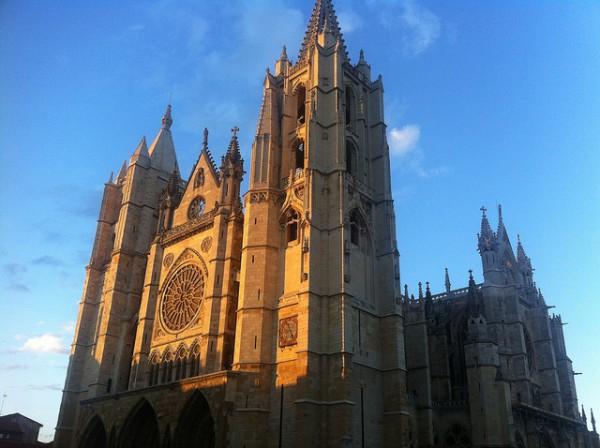 La Catedral de León es una de las más bonitas de España