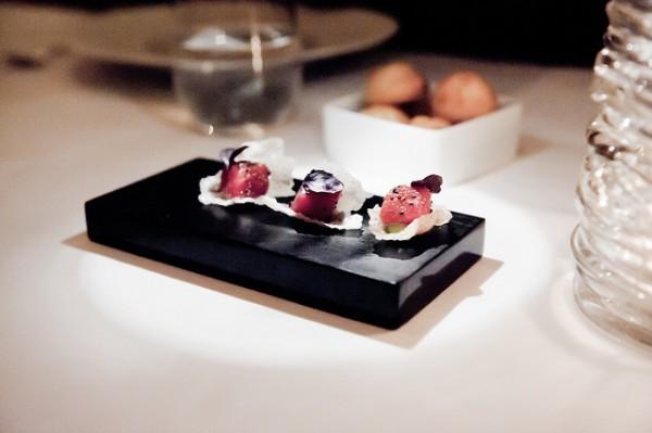 Uno de los platos del Eleven Madison, el mejor restaurante del mundo según Restaurant