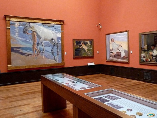 El Museo Sorolla es uno de los más interesantes de Madrid
