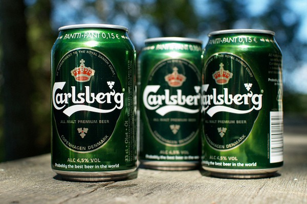La fábrica de Carlsberg, en Copenhague