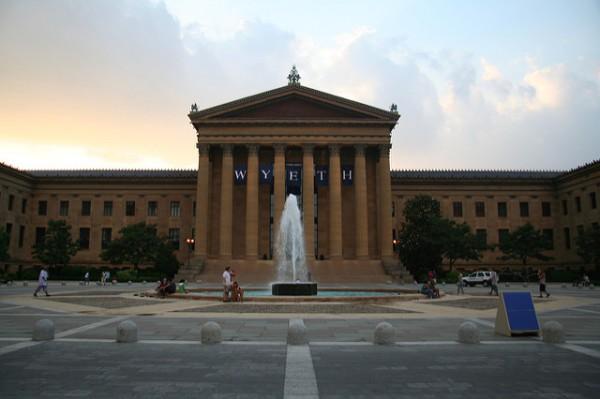 El Museo de Arte de Filadelfia es uno de los más grandes de Estados Unidos