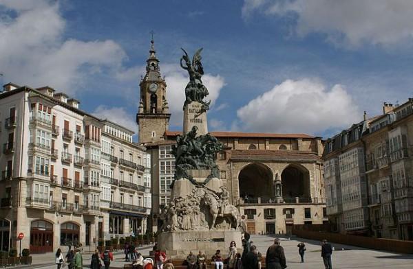Los lugares emblemáticos en Vitoria-Gasteiz