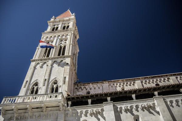 La Catedral de Trogir es el monumento más famoso de la ciudad