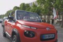 Descubre París a bordo de un Citroën E-Mehari, la versión eléctrica del mítico modelo