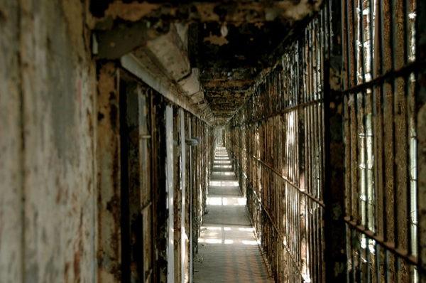 Interior de Ohio State Reformartory, una famosa cárcel de los Estados Unidos