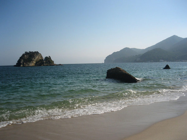 Portinho da Arrabida es una de las playas más bonitas de Portugal