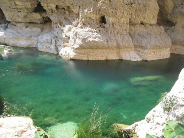 Wadi Shab es uno de los más famosos wadis de Omán