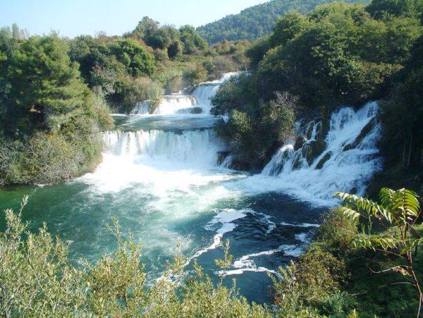 Se limitará el acceso a la cascada de Skradinski buk