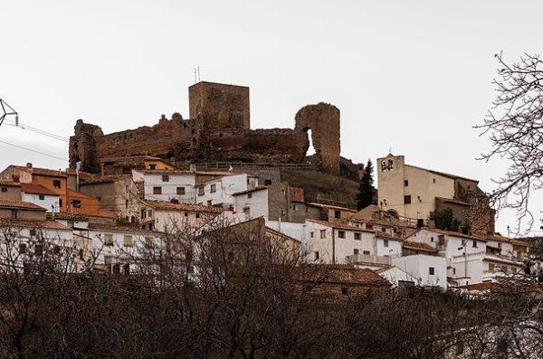 Vistas de Trasmoz, un curioso pueblo de la provincia de Zaragoza