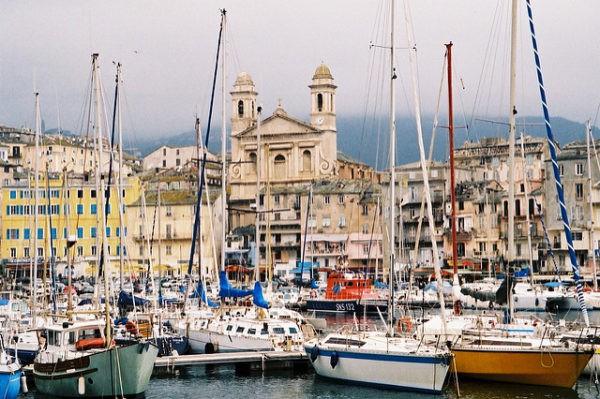 Bastia es la segunda ciudad en tamaño de Córcega