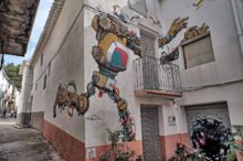 El MIAU 2017 renovará los murales de Fanzara este año con nuevos artistas y graffitis