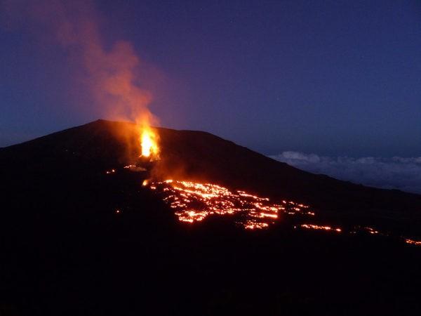 Cinco de los volcanes más activos del mundo