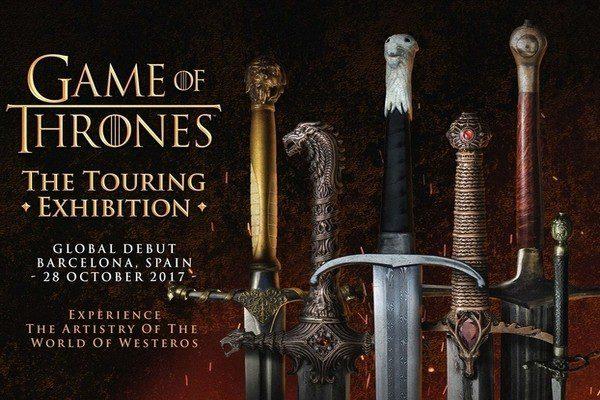 La exposición de Juego de Tronos estará en Barcelona a partir del 28 de octubre
