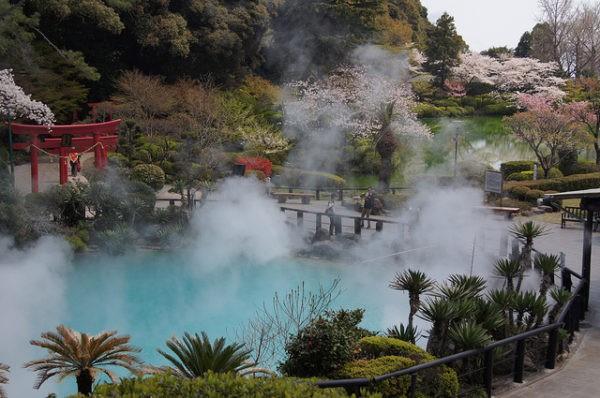 Beppu es una ciudad japonesa famosa por sus infiernos