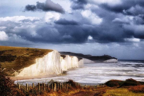 Los acantilados blancos de Seven Sisters, en el Canal de la Mancha